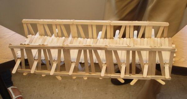 11 homemade bridge building