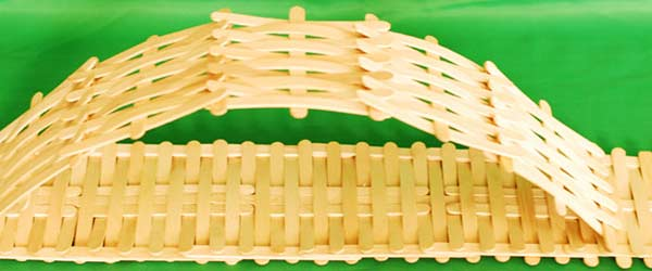 4 popsicle stick bridge craft
