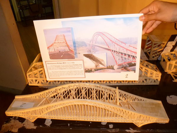 9 diy chaotianmen bridge model