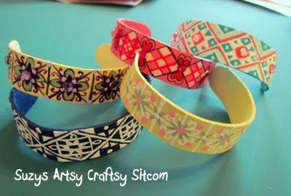 13 popsicle stick bracelets