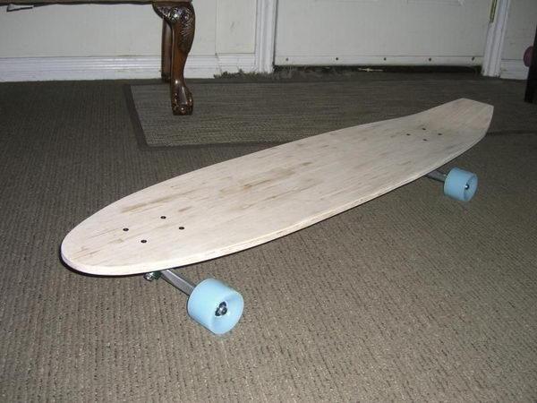17 longboard deck craft