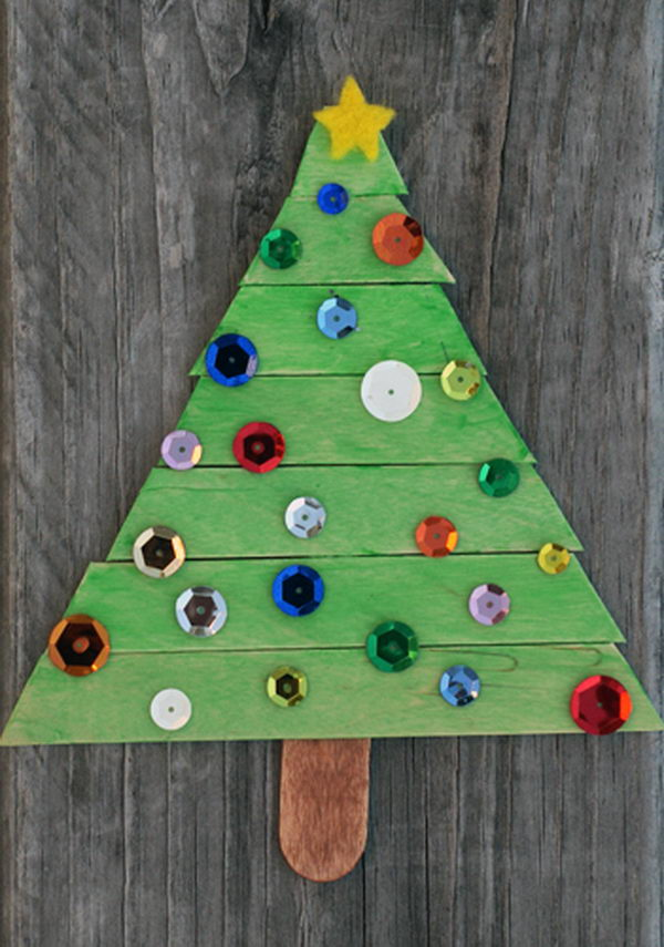 34 Christmas Tree Craft