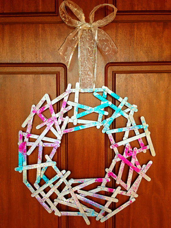 Christmas Craft Ideas With Popsicle Stick : Homemade popsicle stick crafts hative