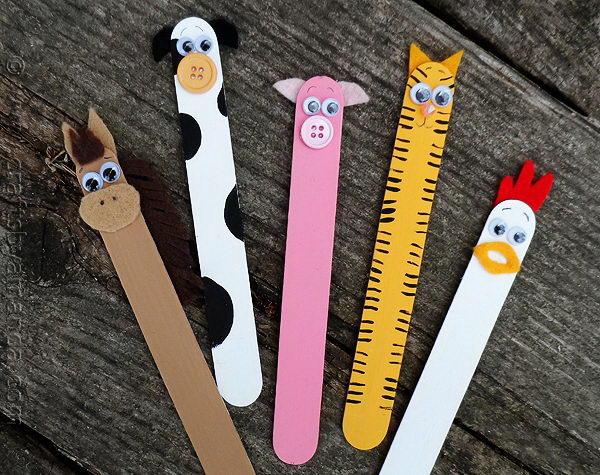 5 diy stick farm animals
