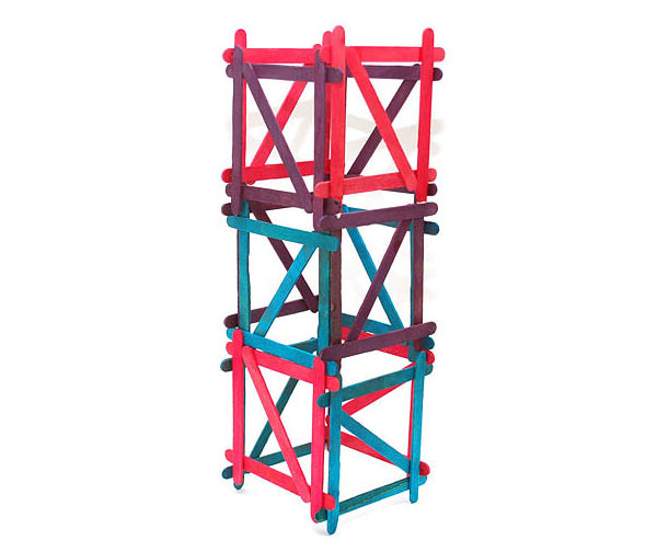 7 how to build popsicle stick tower
