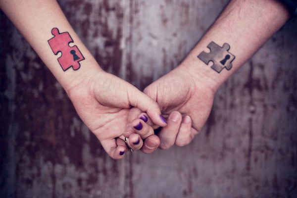 16 matching tattoos on wrists