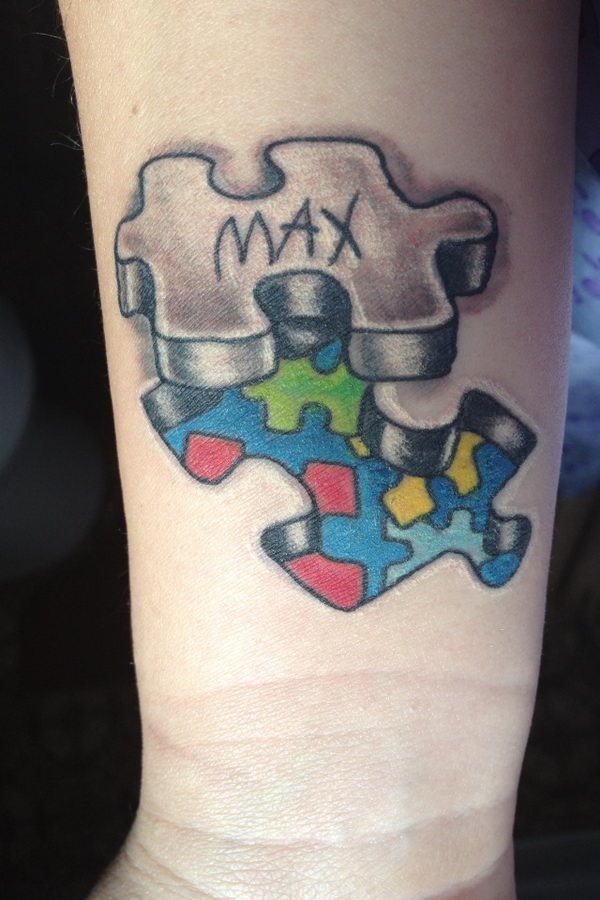 31 autism tattoo for son