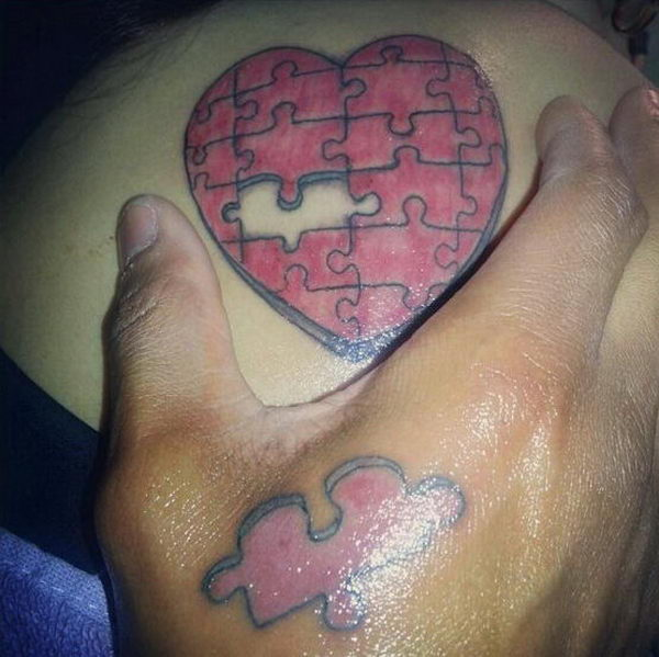41 missing piece to her heart