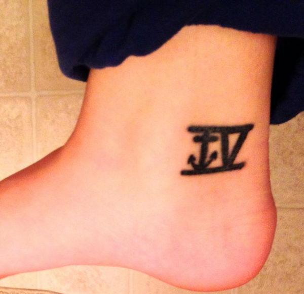 30 Cute Roman Numeral Tattoos Hative