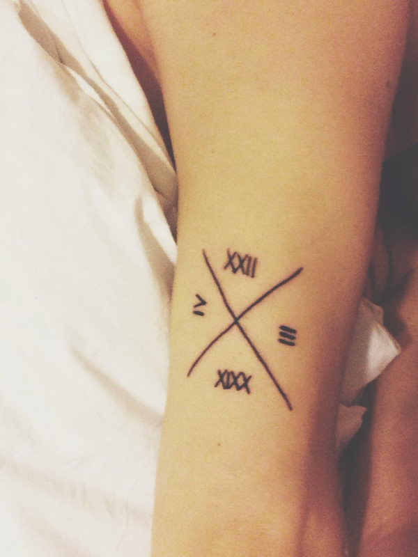 30 numeral tattoos hative