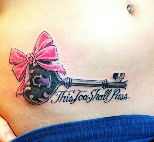 20 this too shall pass bow and key
