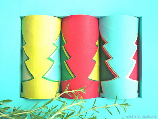 14 christmas trees http://hative.com/homemade-toilet-paper-roll-crafts/