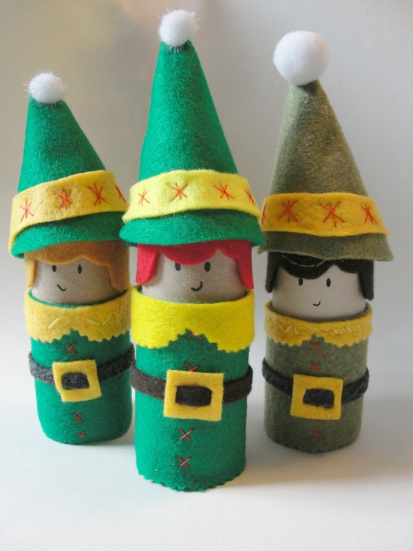 15 Holiday Elves Craft