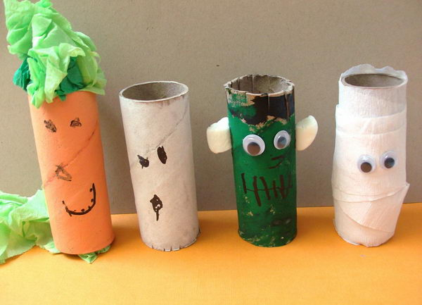 20 toilet paper roll crafts for halloween