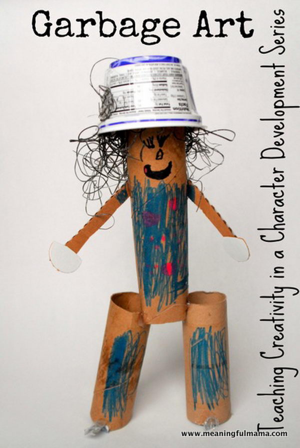 33 garbage art teaches creativity