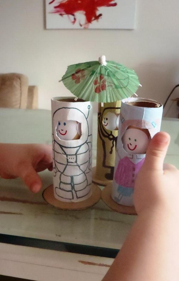 34 homemade dolls