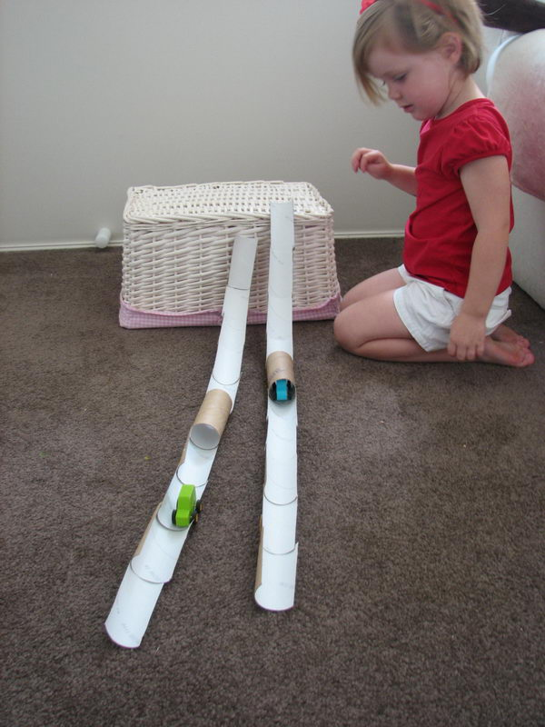 5 homemade racetrack