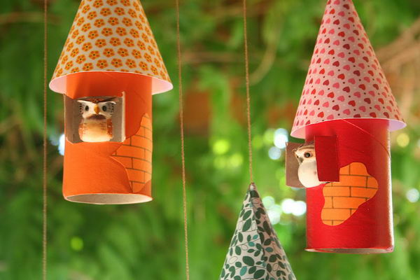 50 bird houses craft