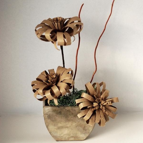 57 homemade flowers craft