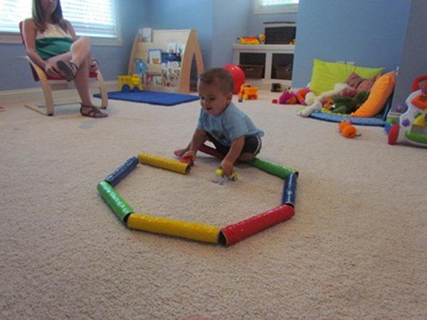 6 toddler tubes craft