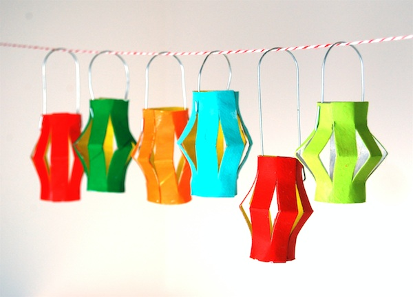 61 lantern ornament http://hative.com/homemade-toilet-paper-roll-crafts/