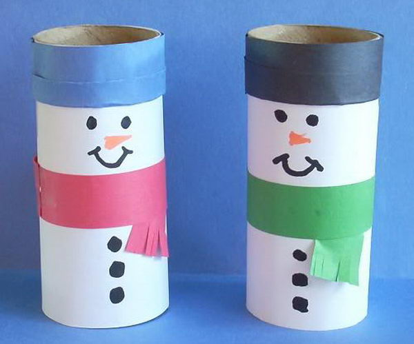 150 homemade toilet paper roll crafts hative 9 christmas craft sciox Gallery
