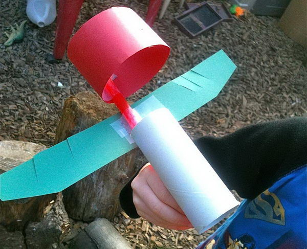 2 diy hummingbird flyer