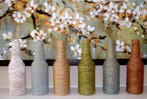 18 diy yarn wrapped craft
