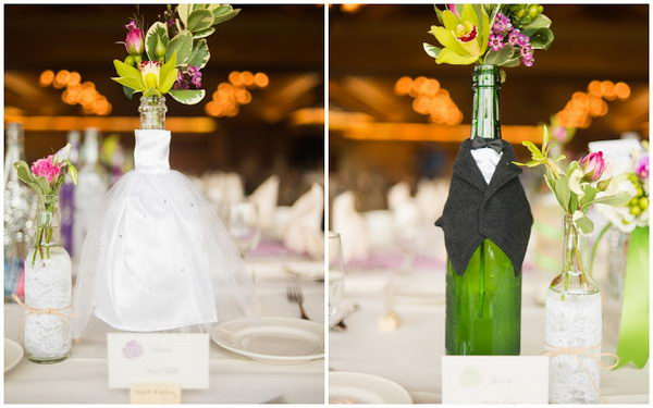 20 Creative Wine Bottle Centerpieces Hative