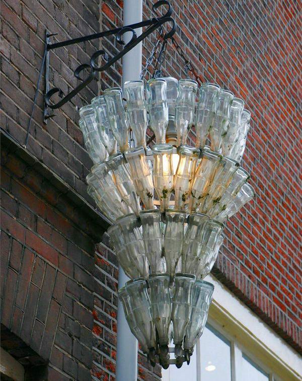 25 creative wine bottle chandelier ideas hative