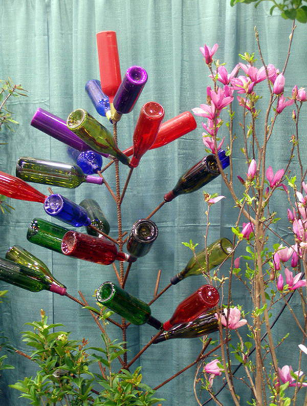 20 wine bottle tree