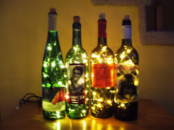 Wine Bottle Accent Light.