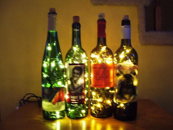 Wine Bottle Accent Light.