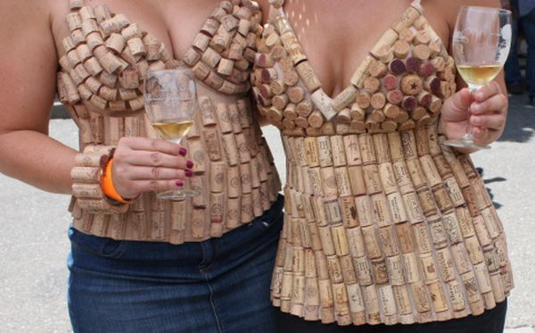 Wine Cork Clothing for Girl.