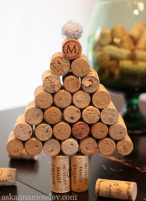 Wine Cork Christmas Tree.