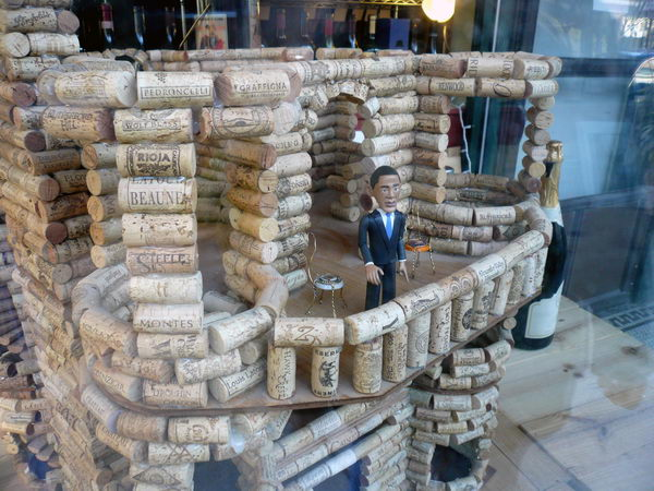 Wine Cork Architecture.