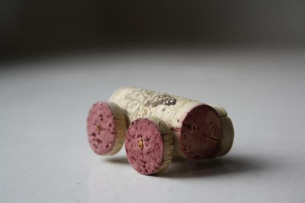 Wine Cork Car.