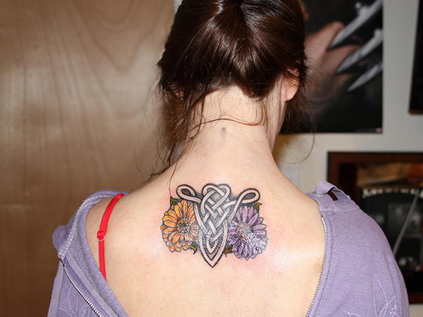 12 friendship celtic aries on back