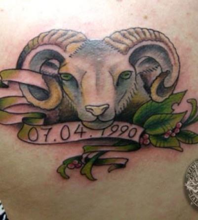 15 aries ram tattoo