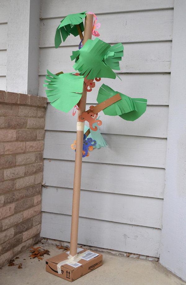 Cardboard Palm Tree,