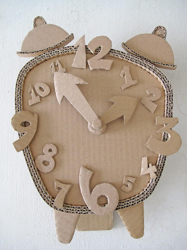 70 cool homemade cardboard craft ideas hative for 3d art sculpture ideas