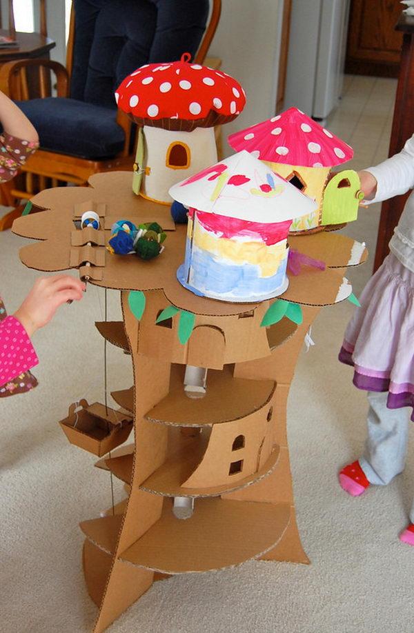 Cardboard Faraway Tree,