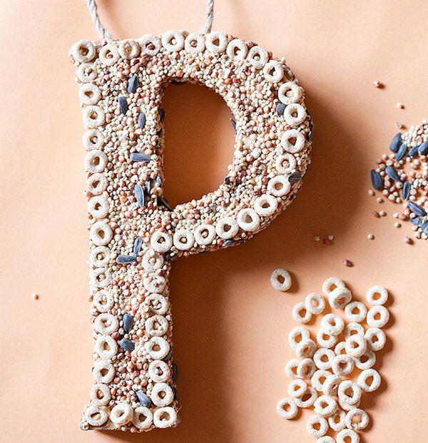 3d Letter Diy.20 Cool Diy Cardboard Letters Hative