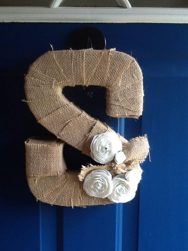 20 Cool Diy Cardboard Letters Hative