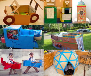 cardboard-playhouse-collage