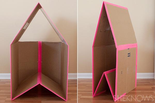 10-diy-collapsible-cardboard-playhouse