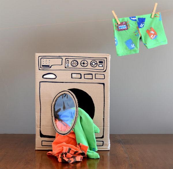11 homemade washing machine