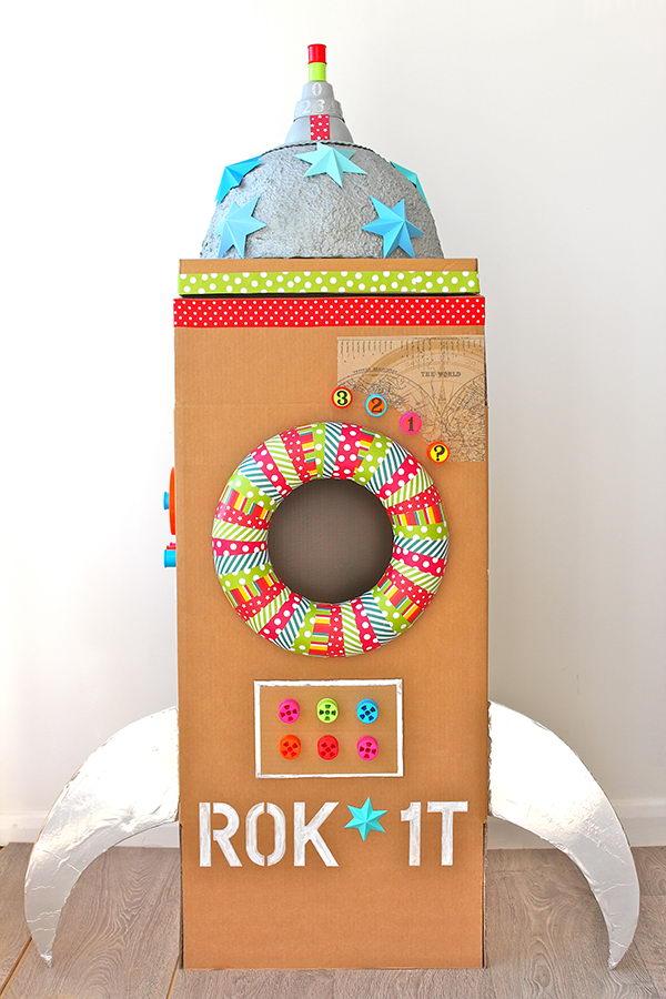 12-rocket-cardboard-playhouse