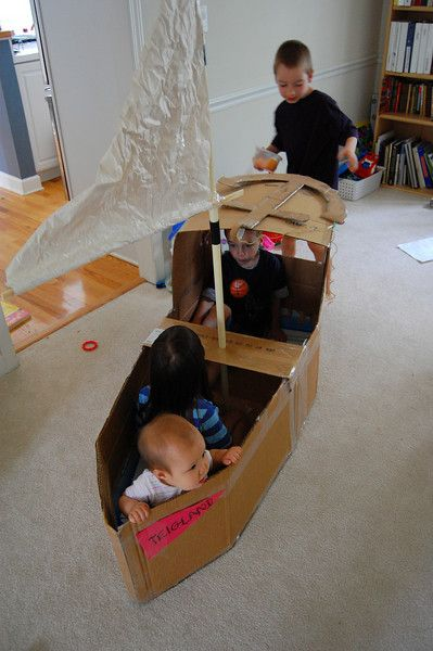 30 Creative Diy Cardboard Playhouse Ideas Hative