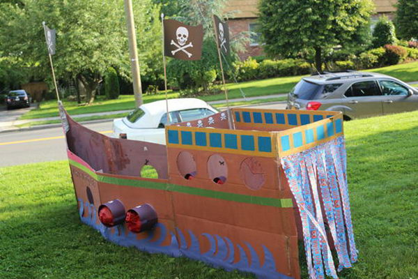 4 Homemade Pirate Ship For Kids